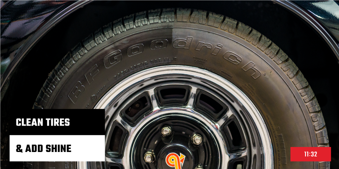 How To: Clean Tires And Add Shine