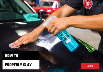 How To Clay Your Car