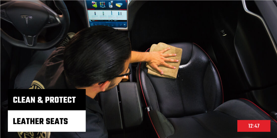 How to Clean And Protect Leather Seats