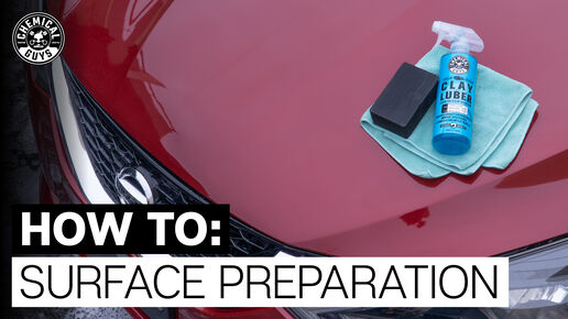 How to surface prep
