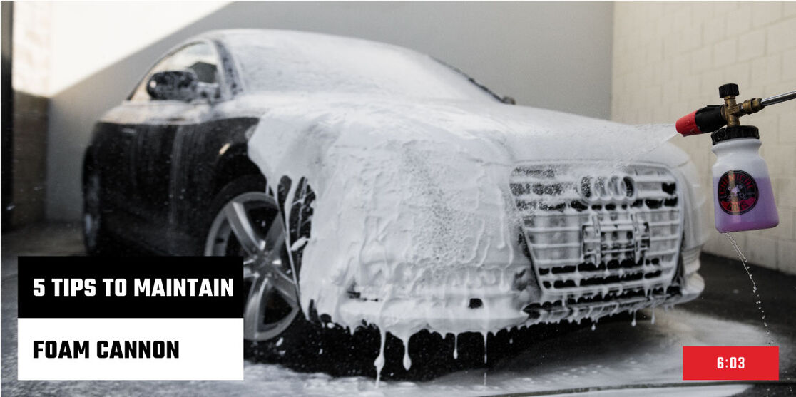 Top 5 Foam Cannon Tips and Tricks