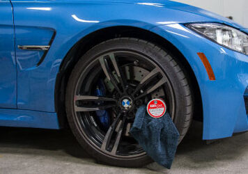 How to Clean Black Wheels