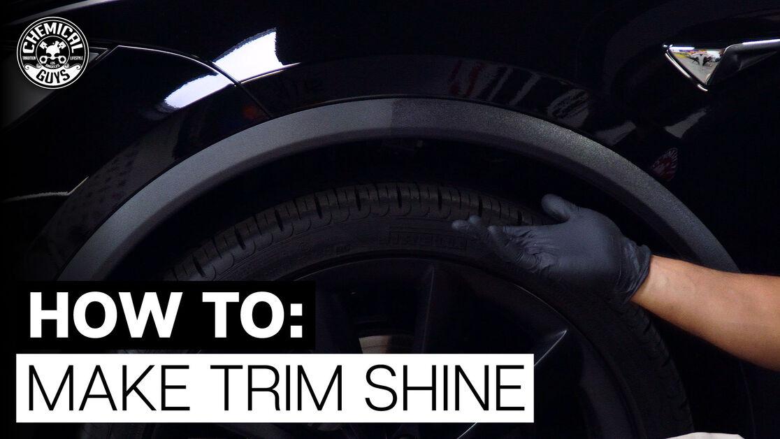 How To Make Trim Shine