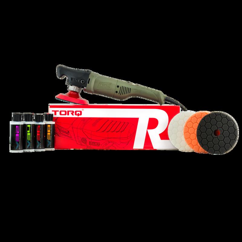 TORQ TORQ R Precision Power Rotary Polisher Kit (9 Items)