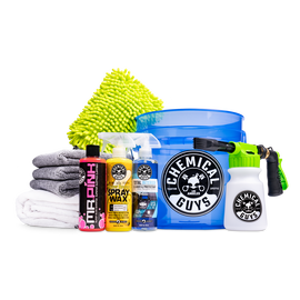 Blazin' Blue Foaming Wash & Complete Care Kit