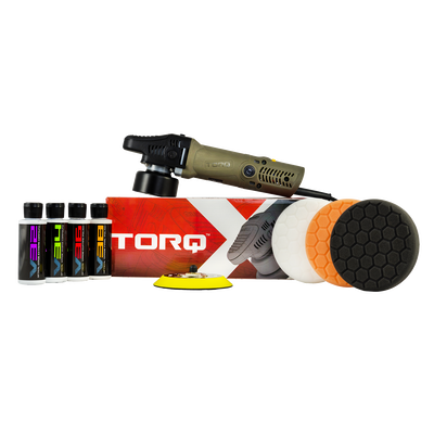 TORQX Random Orbital Polisher Kit