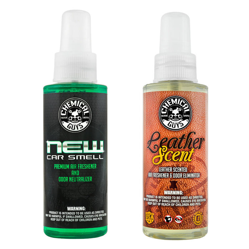 New Car Scent & Leather Scent Kit