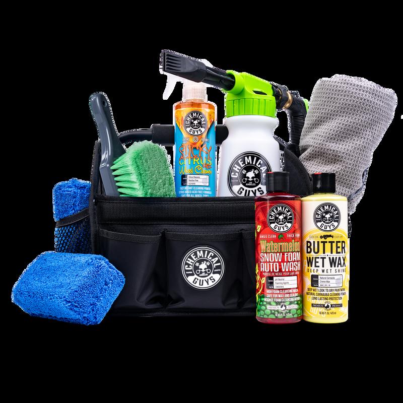 Quick Load Foam Blaster Wash & Wax Car Detailing Kit