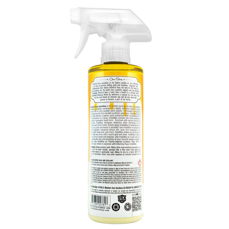 InstaWax Liquid Carnauba Shine and Protection Spray