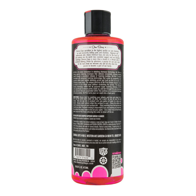 Mr. Pink Super Suds Superior Surface Cleanser Car Wash Shampoo