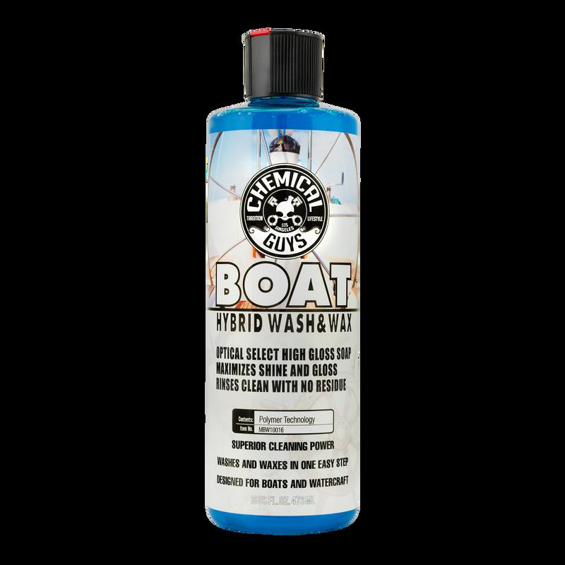 Marine and Boat Hybrid Wash and Wax