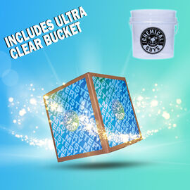 FUN FAIR ULTRA CLEAR BUCKET MYSTERY KIT - $89+ WORTH OF PRODUCTS FOR $59.99