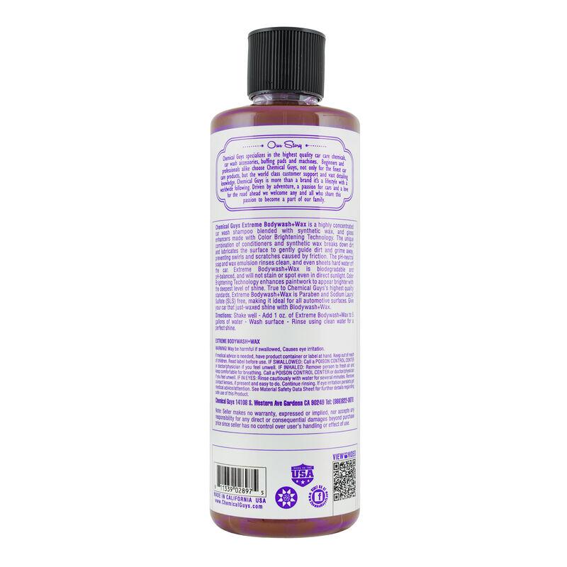 Extreme Body Wash Plus Wax