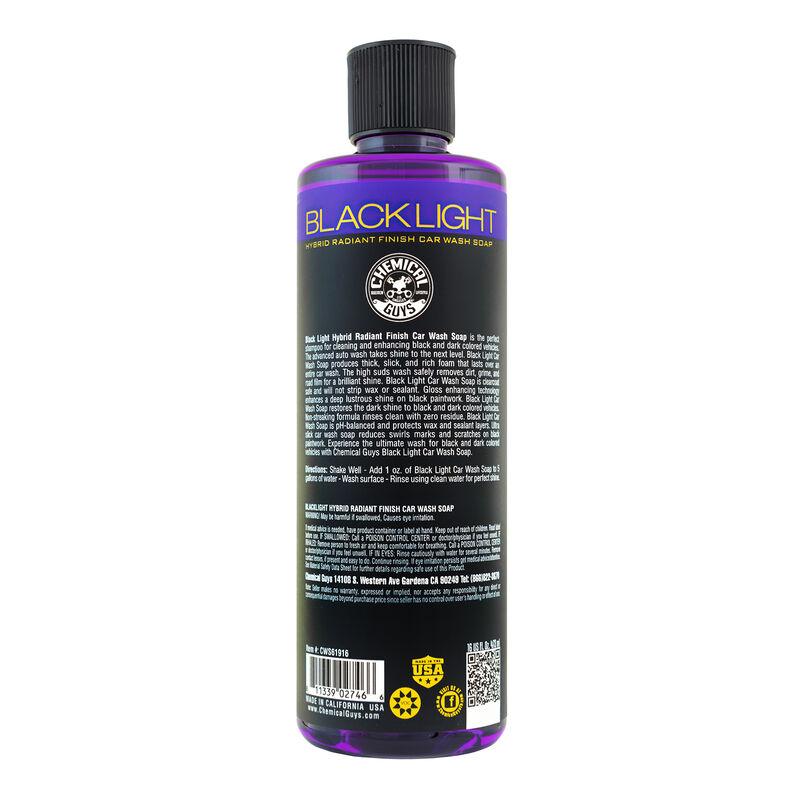 Black Light Hybrid Radiant Finish Car Wash Soap for Black & Dark Colored Cars slider image 6