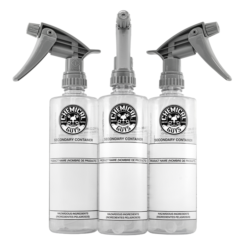 Secondary Container Dilution Bottles (3 Pack) - Chemical Guys