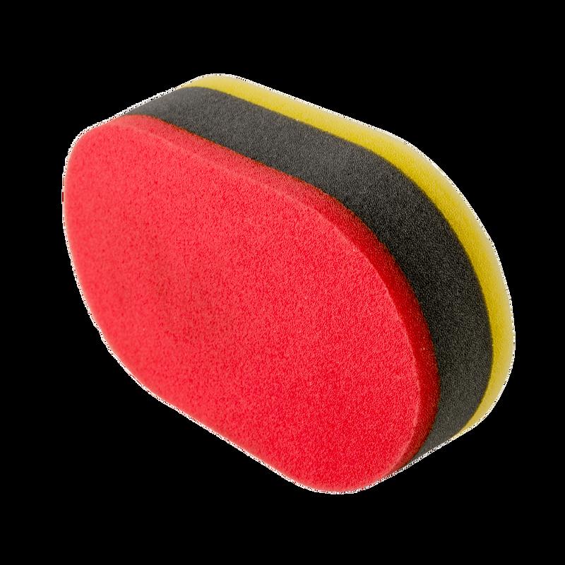 Tri-Color Dual Purpose Applicator Pad