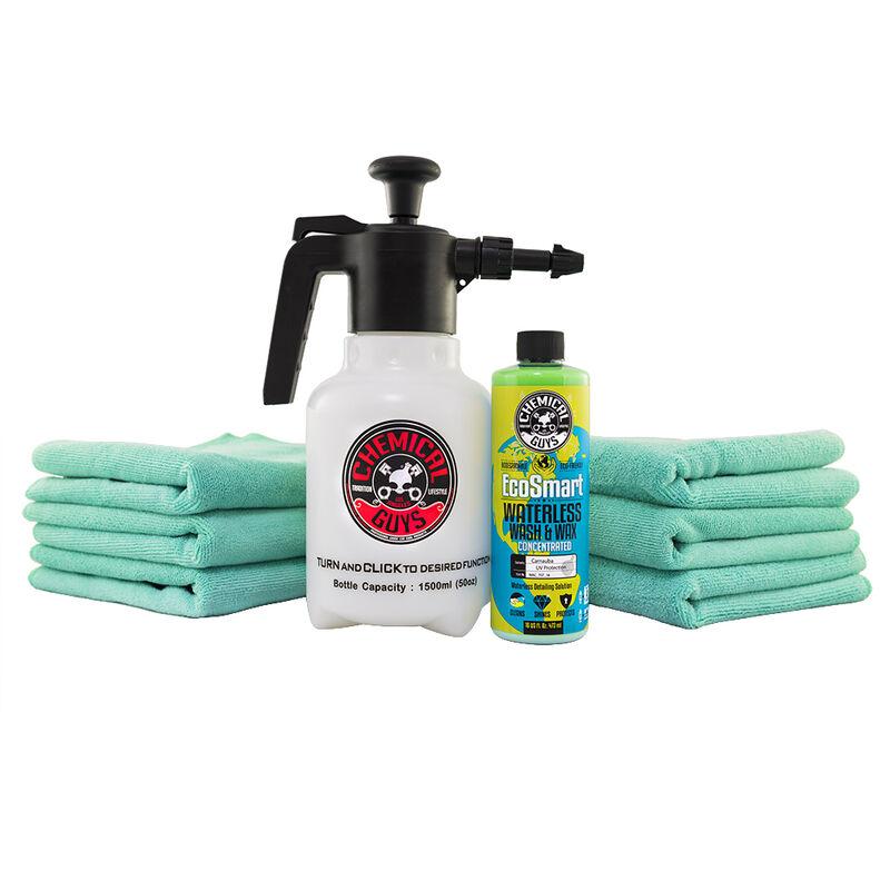 Eco Friendly Waterless Car Wash & Wax Sprayer Kit slider image 1