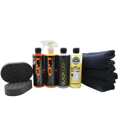Black Car Care Kit