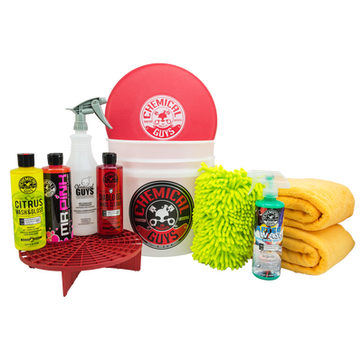 Best Car Wash Bucket Kit