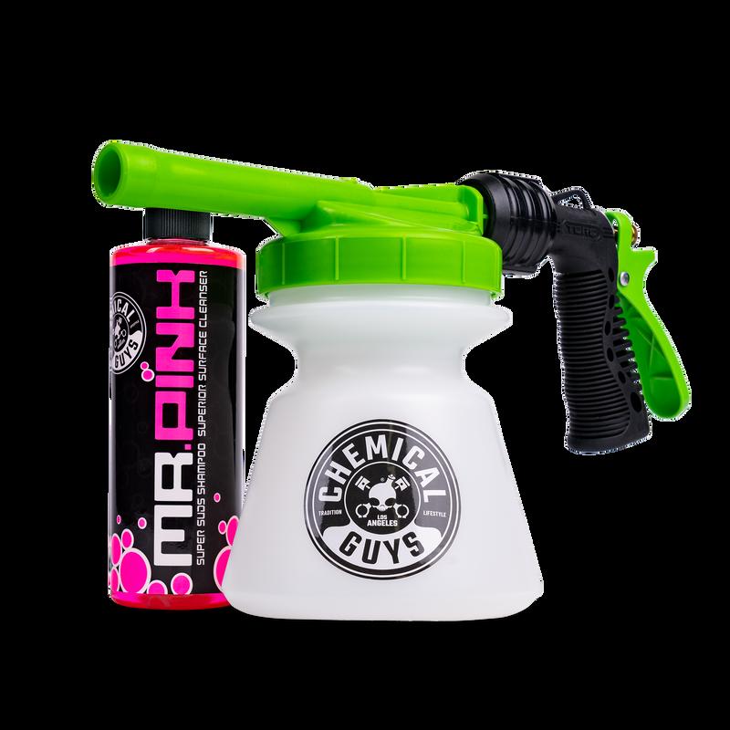 TORQ Snow Foam Blaster R1 Foam Gun & Mr. Pink Super Suds Shampoo (16 oz) Kit