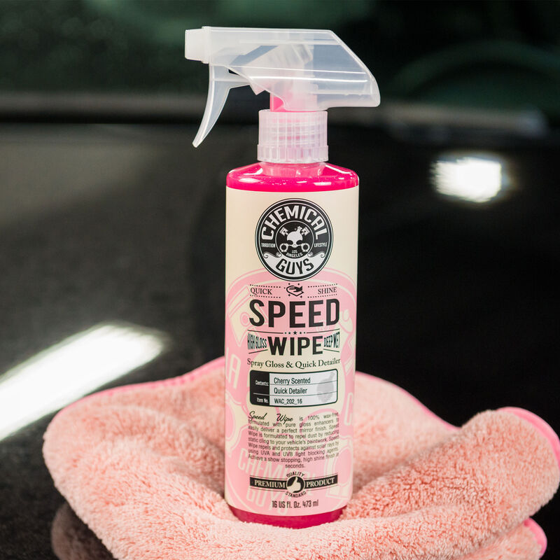 Speed Wipe Quick Detailer & High Shine Spray Gloss Cherry Scent