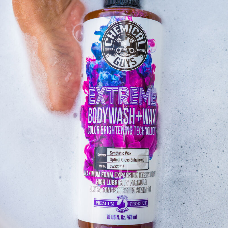 Extreme Body Wash Plus Wax slider image 3