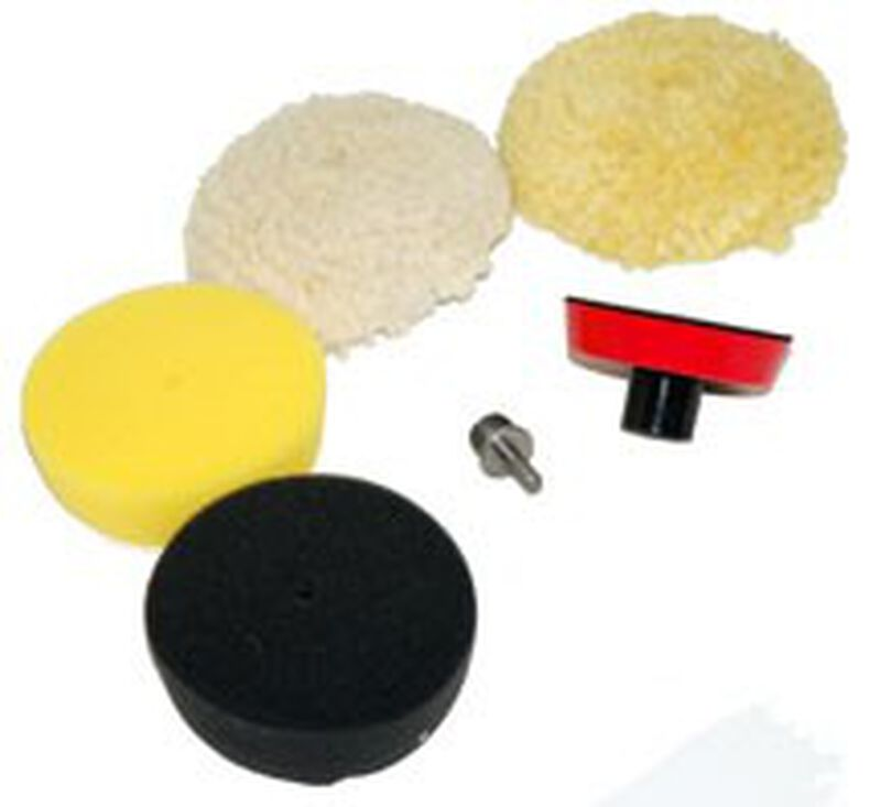Complete Spot Polishing Kit for Rotary and Dual-Action (4 Inch)