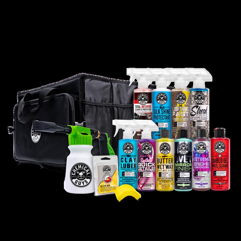 Total Foaming Car Care Trunk Organizer Kit