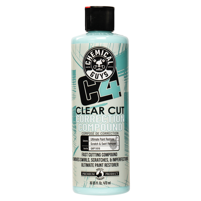 C4 Clear Cut Correction Compound (16oz)
