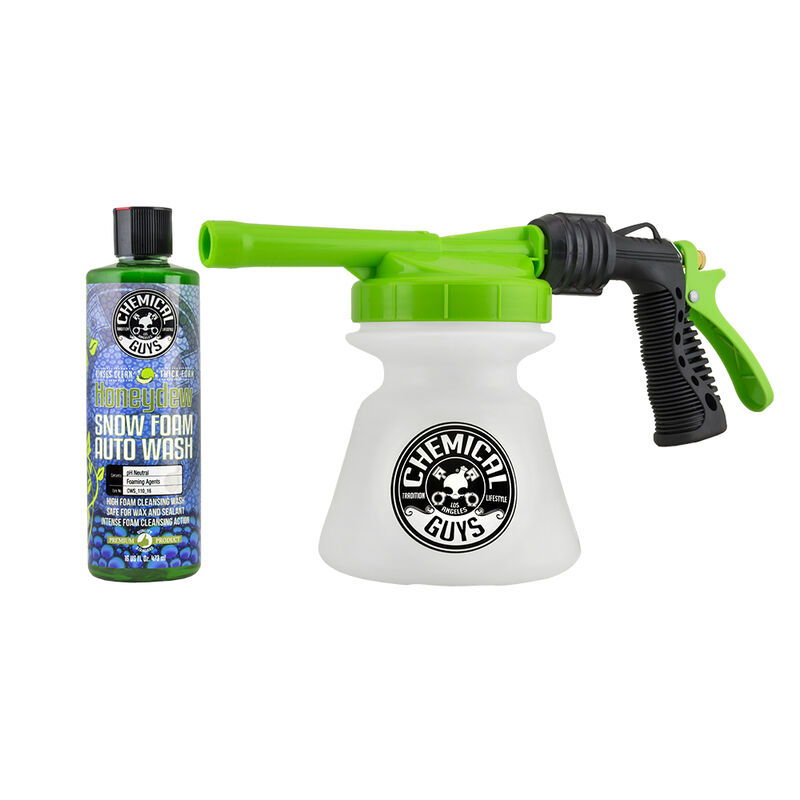 TORQ Snow Foam Blaster R1 Foam Gun & Honeydew Snow Foam (16 oz) Kit