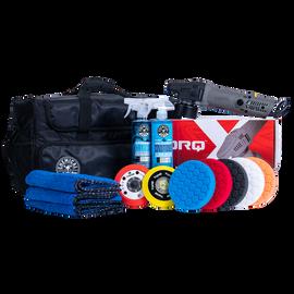 TORQX Complete Detailing Kit with Arsenal Range Polisher Bag (14 Items)