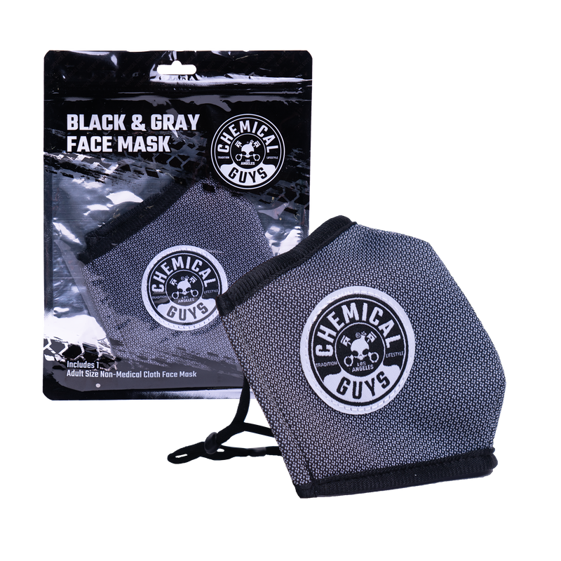 Non - Medical Face Mask (Multiple Colors) - Contoured, Fully Adjustable, Comfortable Fabric For Everyday Use | Chemical Guys