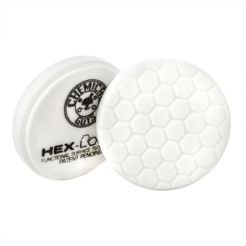 White Hex-Logic Light-Medium Polishing Pad slider image 1