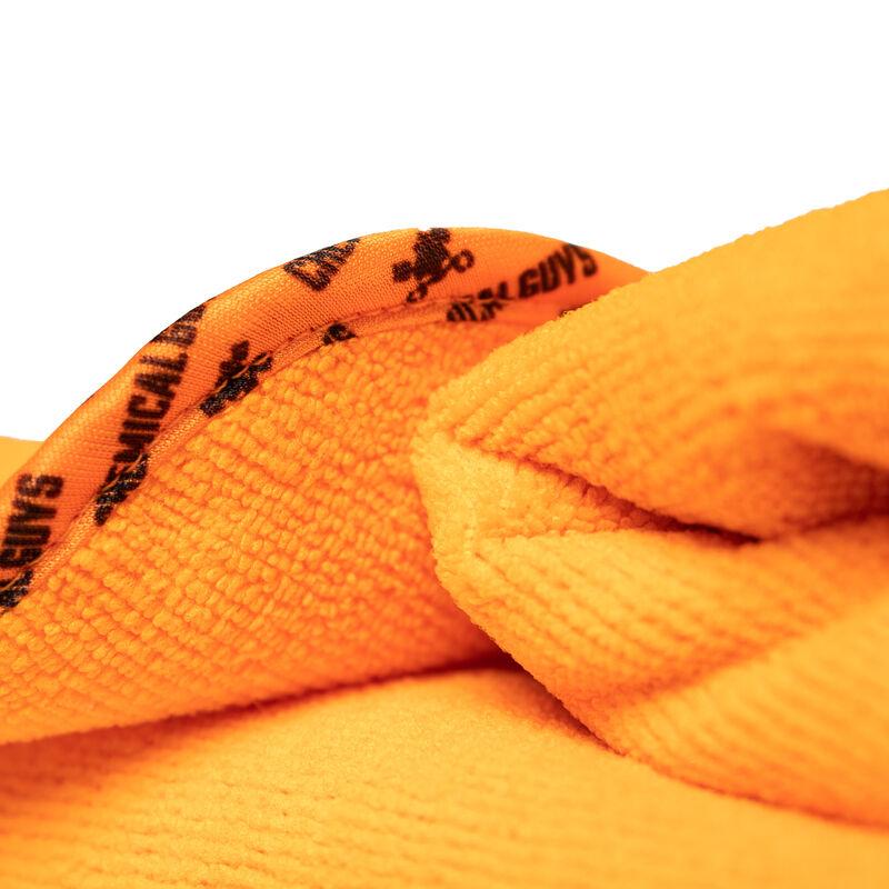 "Fatty Super Dryer Microfiber Drying Towel, Orange 25"" x 34"""