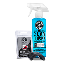 Clay Bar & Luber Synthetic Lubricant Kit, Heavy Duty
