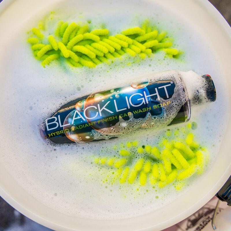 Black Light Radiant Finish Car Wash