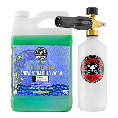 TORQ Foam Cannon Snow Foamer & Honeydew Gallon Soap