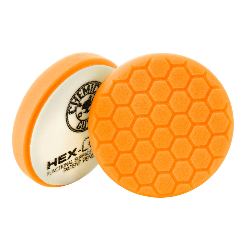 Orange Hex-Logic Medium-Heavy Cutting Pad