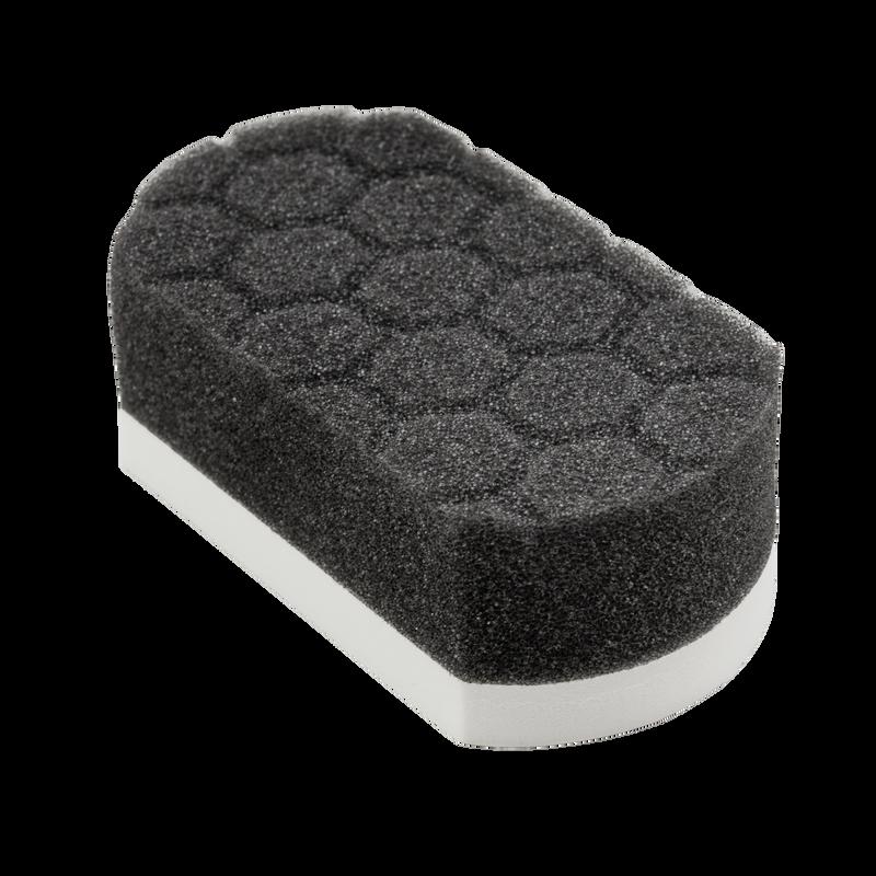Easy Grip Soft Hex-Logic Applicator Pad, White
