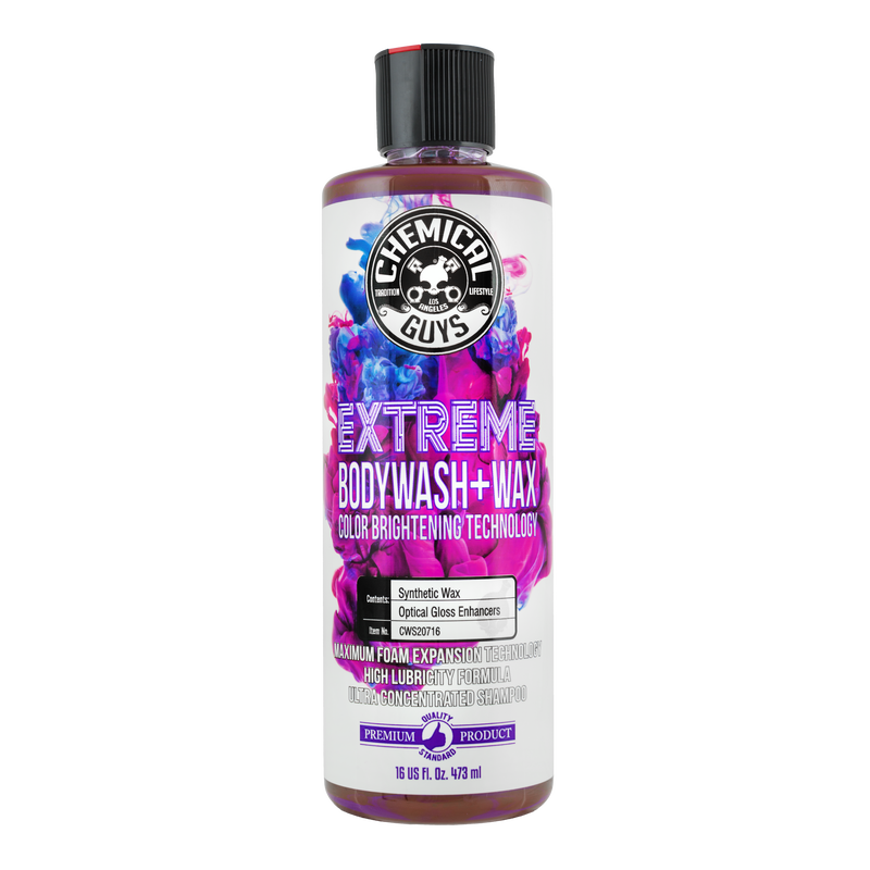Extreme Body Wash Plus Wax