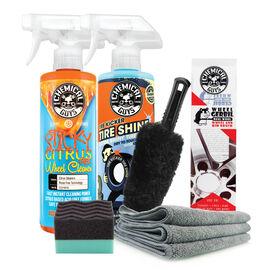 The Keep Wheels & Tires Clean Kit