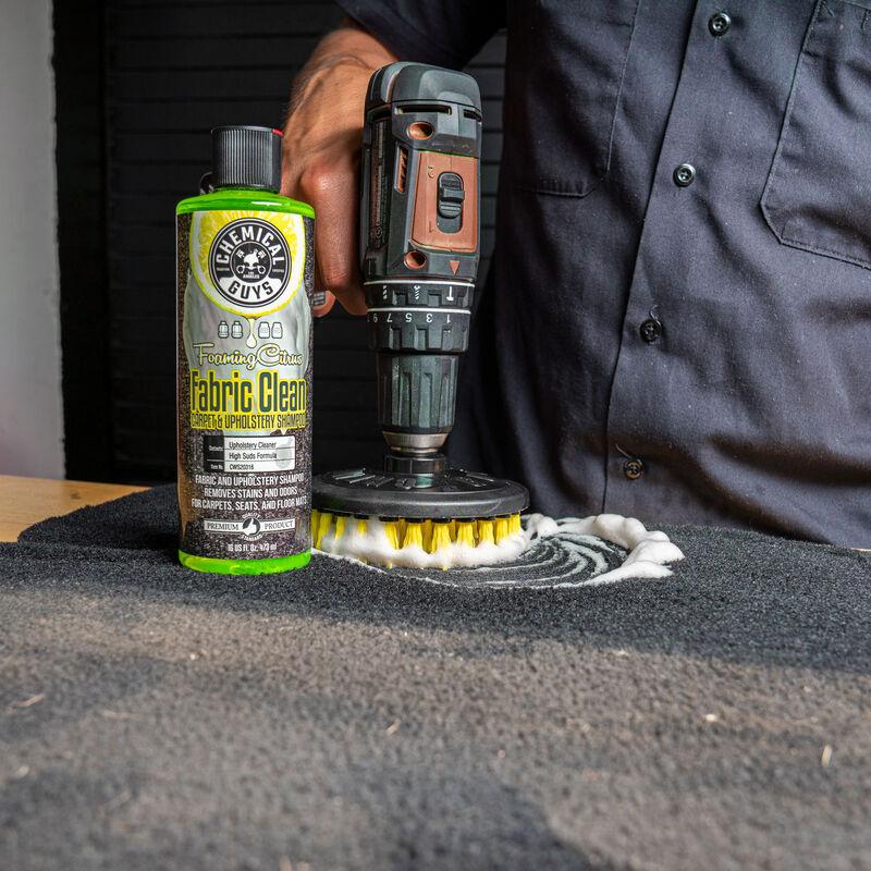 Chemical Guys Spinner Carpet Drill Brush, Medium Duty
