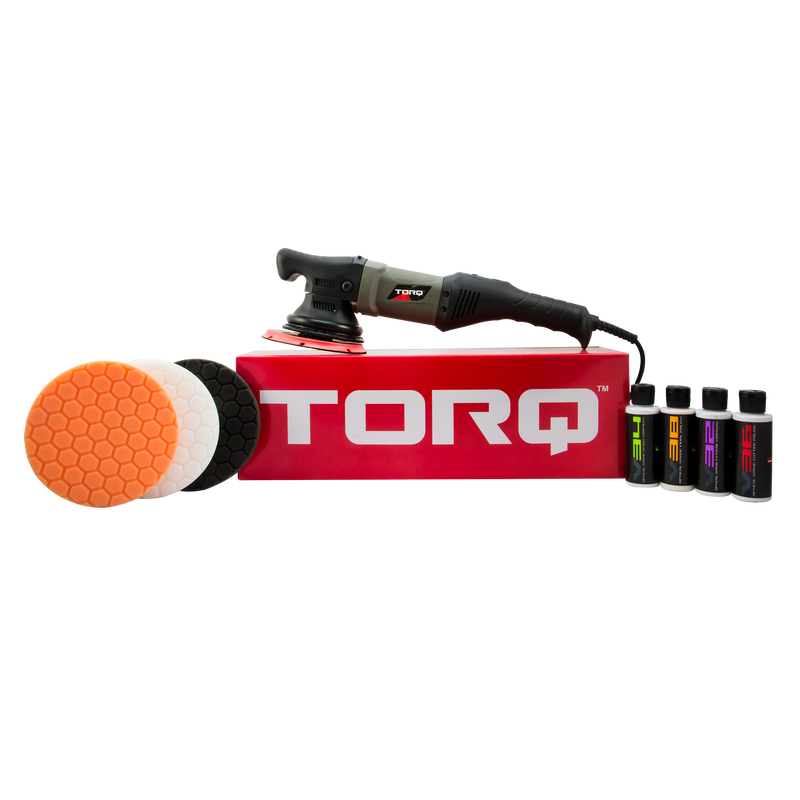 TORQ TORQ22D Random Orbital Polisher Kit (9 Items)