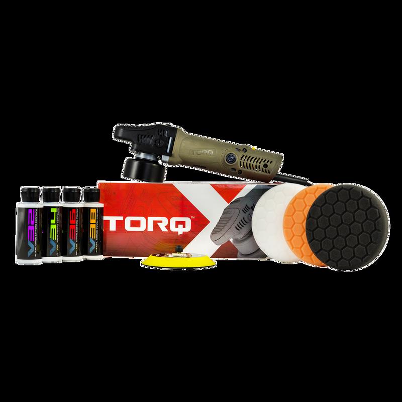 TORQ TORQX Random Orbital Polisher Kit (8 Items)