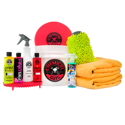 Best Car Wash Bucket Kit With Dirt Trap