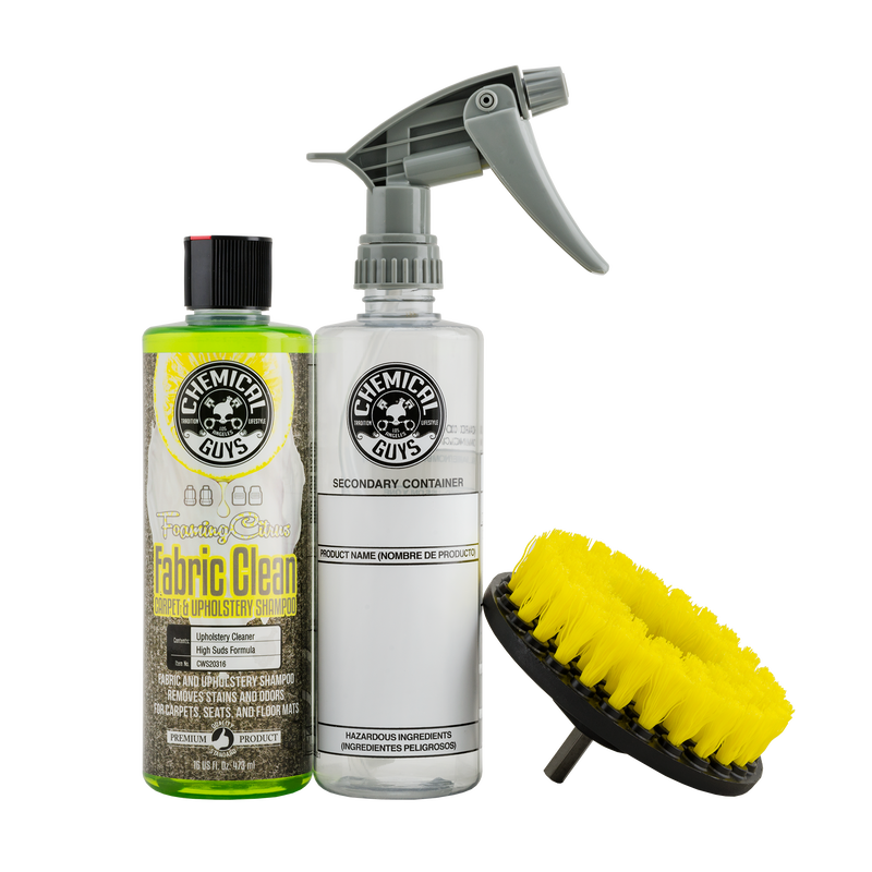 Car Carpet And Upholstery Cleaning Kit - Chemical Guys