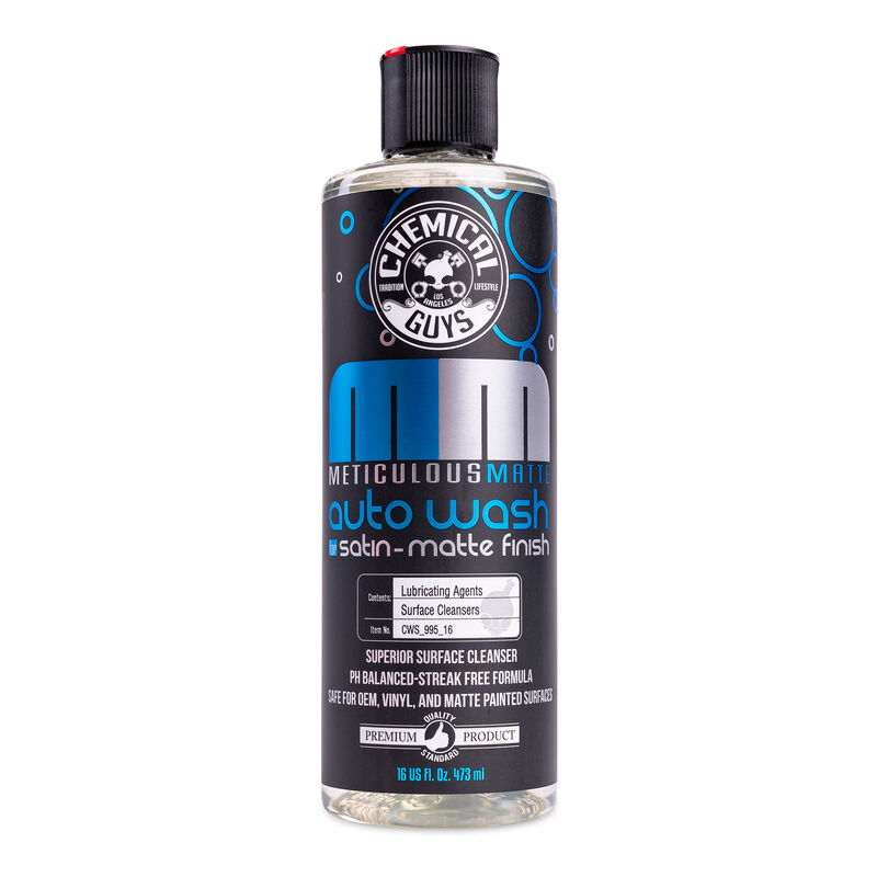Meticulous Matte Auto Wash for Crisp Satin And Matte Finishes