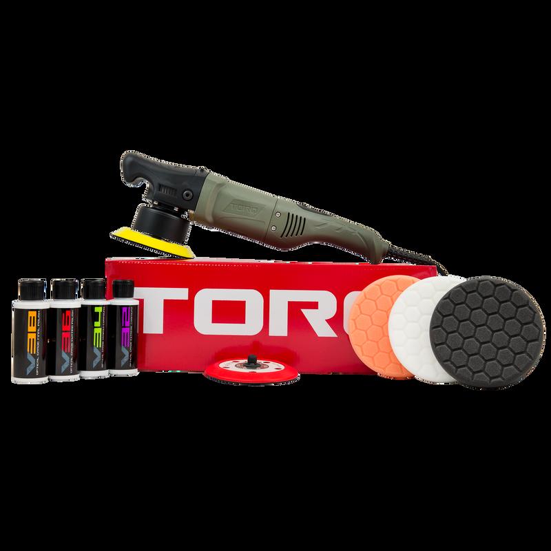 TORQ 10FX Random Orbital Polisher Kit (10 items)