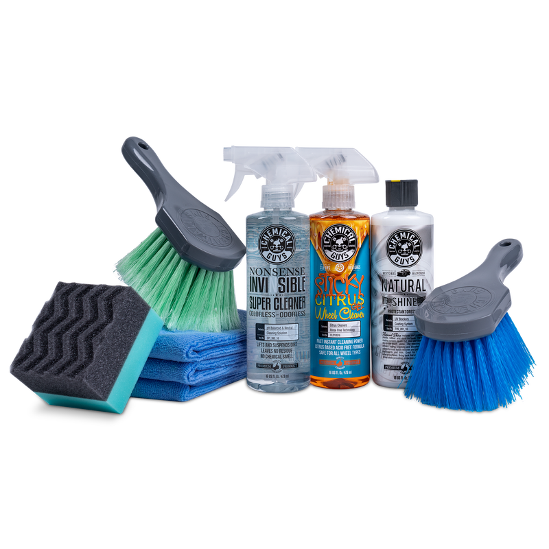 Ultimate Wheel & Tire Cleaning & Protection Kit