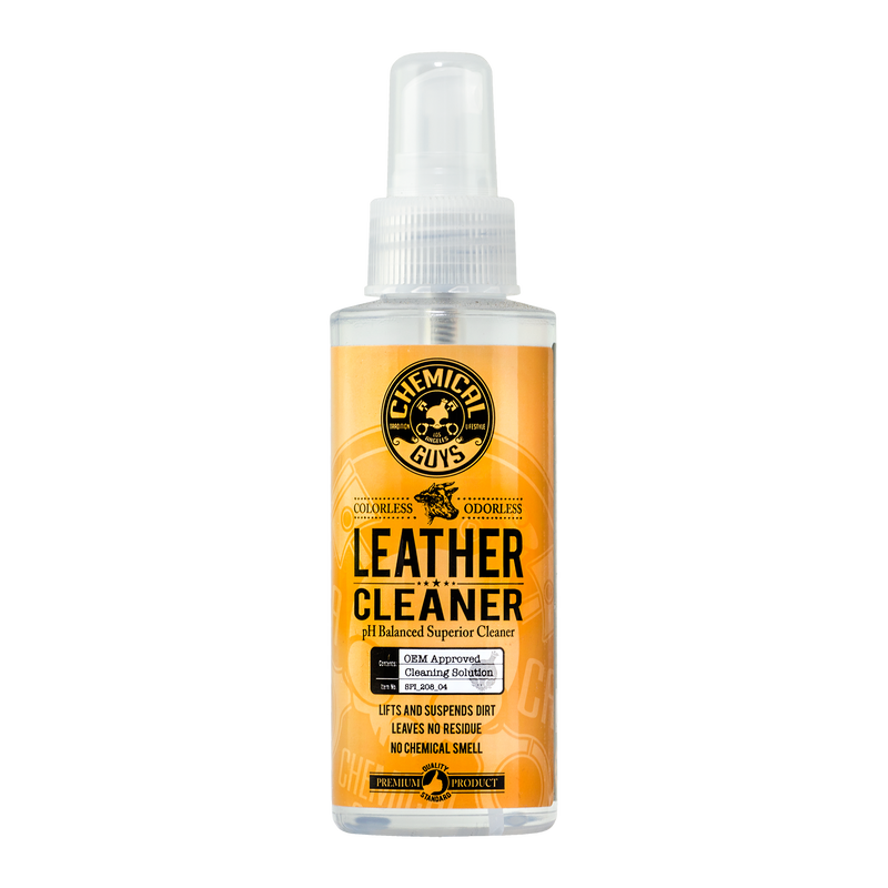 Car Leather Cleaner, Colorless & Odorless - Chemical Guys